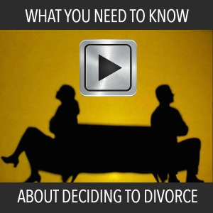 Deciding to Divorce